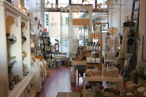 shop tour: brick and mortar