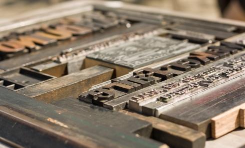 letterpress layout